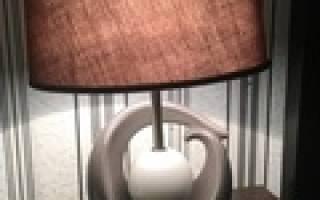 Жемчужина в раковине светильник