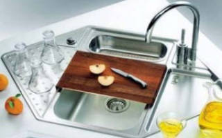 Раковина угловая для кухни размеры