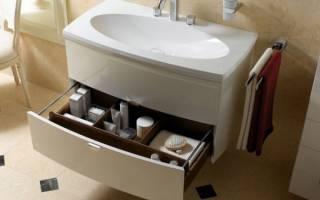 Шкаф в ванную под раковину