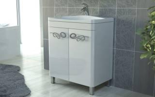 Как подобрать тумбу под раковину в ванной по размерам
