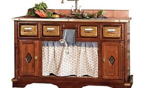Шкаф для раковины на кухне