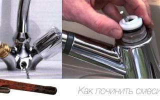 Разборка кухонного смесителя своими руками