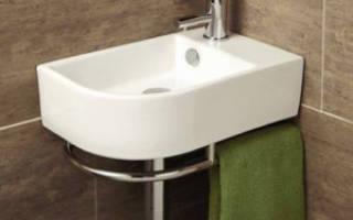 Раковины угловые для ванной размеры