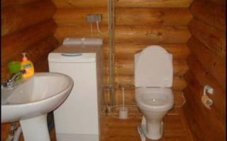 Как поставить унитаз в частном доме на деревянный пол
