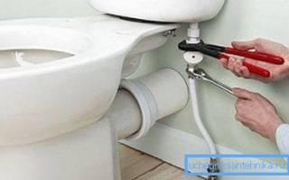 Как подключить унитаз к водопроводу