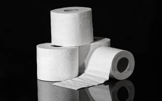 В унитаз не бросать бумагу