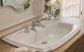 Раковины для ванной комнаты современные