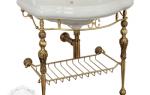 Консоль для раковины в ванную