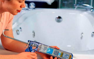 Чем заделать щель между раковиной и стеной в ванной
