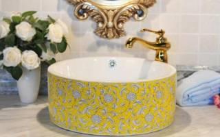 Раковины для ванной стандартные размеры