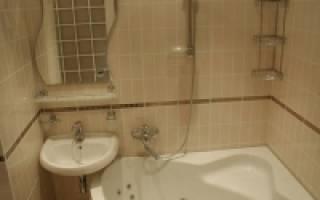 Размеры туалета с раковиной минимальные