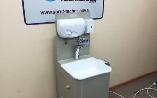 Автономная раковина без подключения к водопроводу