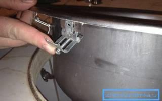Крепеж для раковины к столешнице