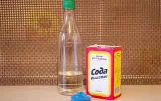 Как почистить содой и уксусом унитаз