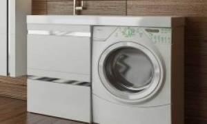 Мебель для ванной под стиральную машину и раковину