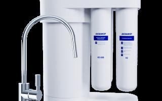 Фильтр для воды на раковину
