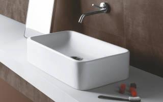 Как установить накладную раковину на столешницу в ванной