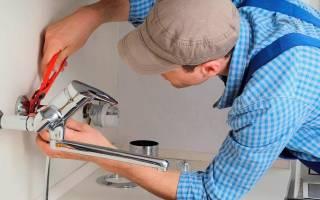 Как собрать смеситель для ванной