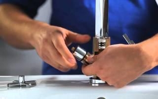 Кухонный кран смеситель ремонт своими руками