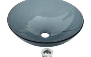 Черная круглая раковина